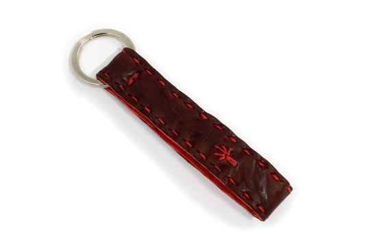 Keyloop Kangaroo Leather Keyring