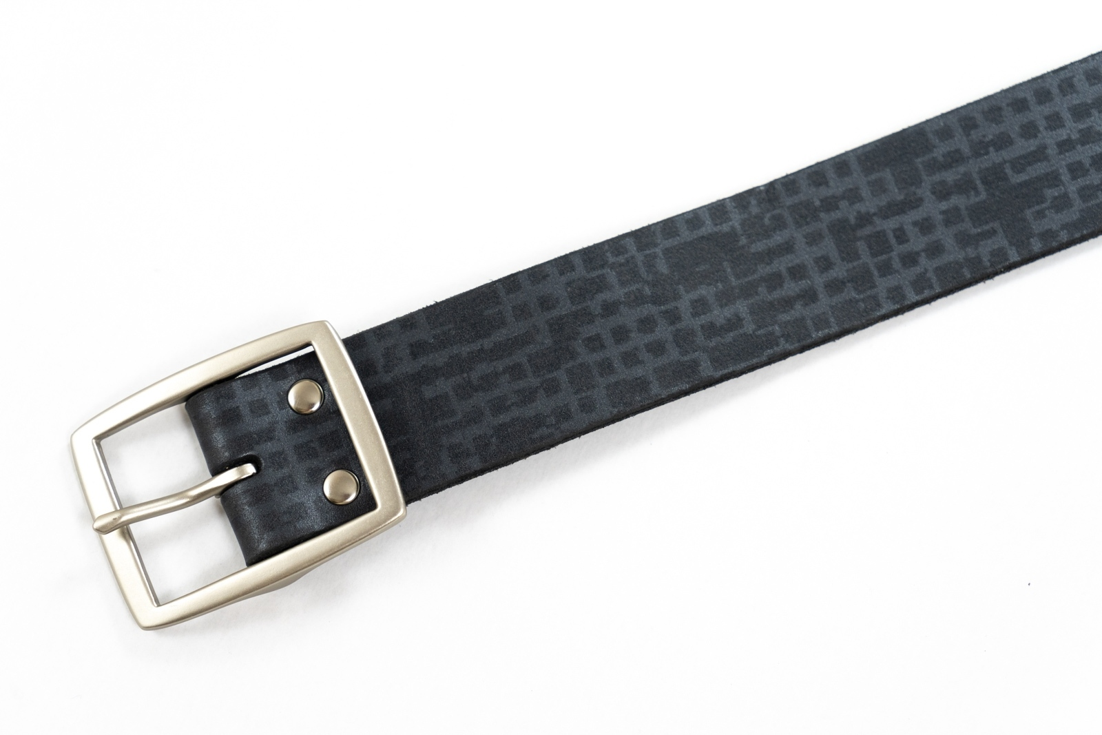 Belt Print Black - In Stock