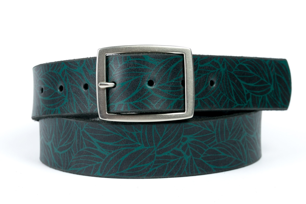 Belt Print Leaves - In Stock