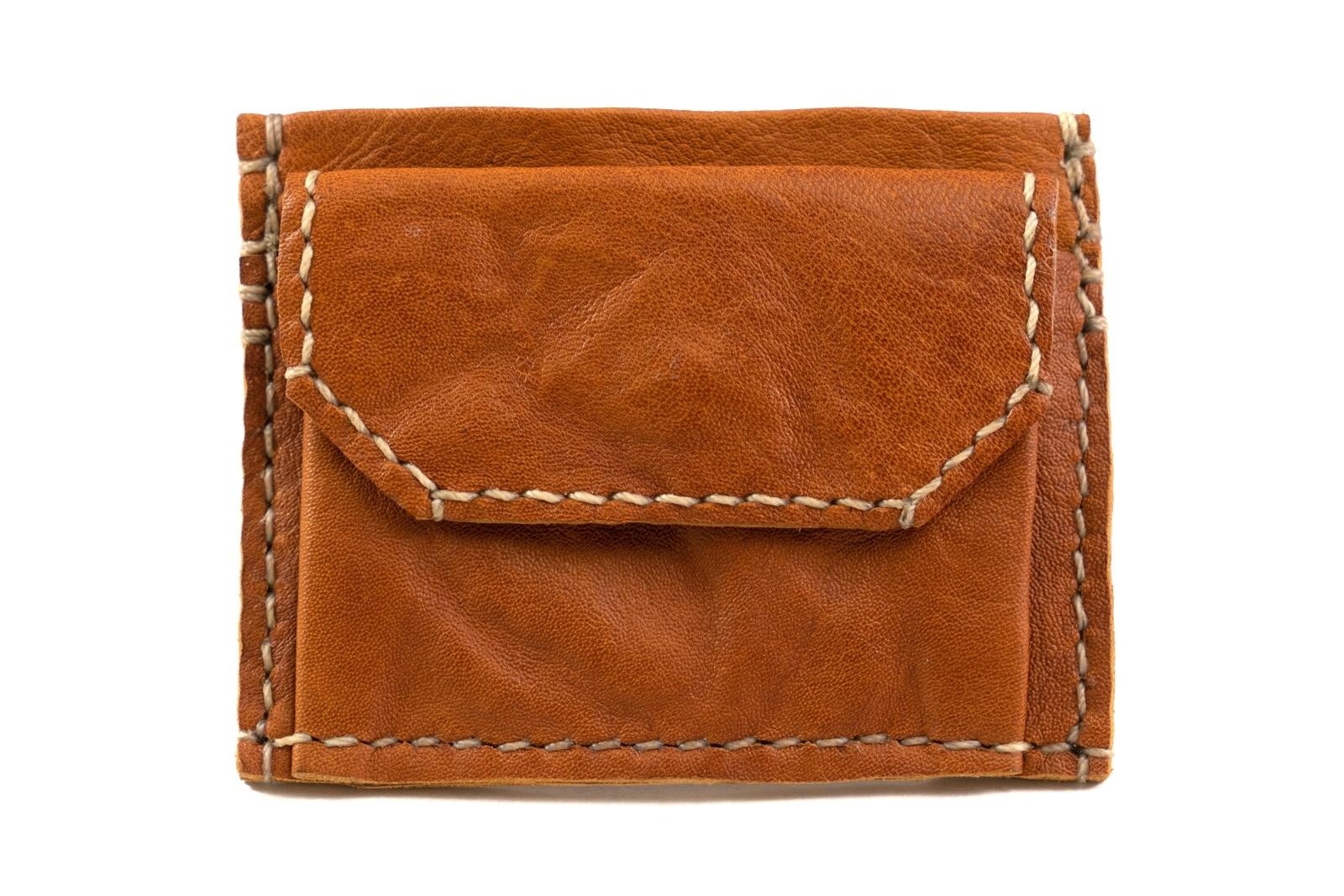 Vigo Cw Kangaroo Leather Compact Wallet