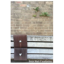 "Greeting Card ""Brick Wall"" by Toshimistsu"