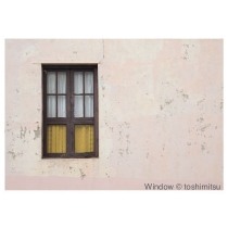 """Greeting Card """"Window"""" by Toshimistsu"""