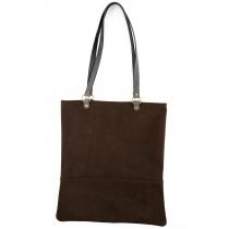 Lena Tote Bag Brown - In Stock