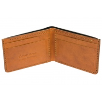 Te. warun sw kangaroo leather mens wallet - inside