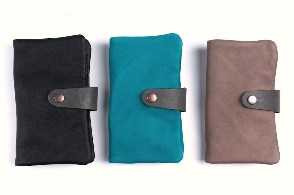 Pipi phone leather wallet